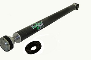 FORD 2011-12 Mustang V6 6-Speed Manual / Automatic 1-Piece Shaft with CV Carbon Fiber Driveshaft