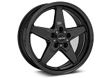 Race Star 17x9.5 Dark Star Drag Wheel Ford Black Chrome