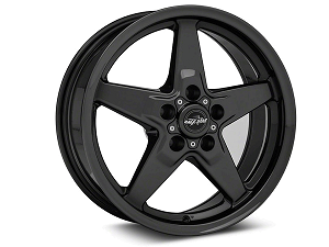 Race Star 17x4.5 Dark Star Drag Wheel Ford Black Chrome